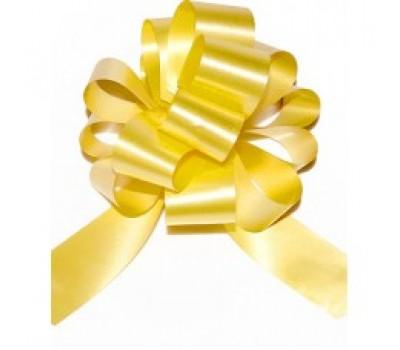 Бант шар 321/30 32мм однотонный желтый шт.