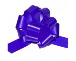 Бант шар 321/55 32мм однотонный синий шт.