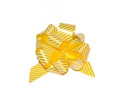 Бант шар 322/04-30 32мм полосы желтые шт.