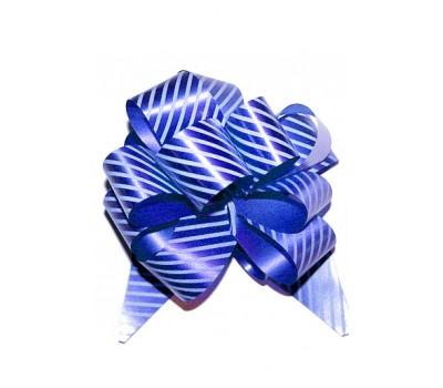 Бант шар 322/04-55 32мм полосы синие шт.