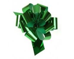 Бант шар 324/45 32мм металл зеленый шт.