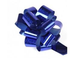 Бант шар 325/55 32мм голография синий шт.