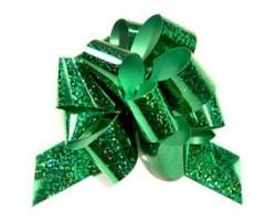 Бант шар 325/45 32мм голография зеленый шт.