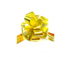 Бант шар 327/30 перламутровый 32мм желтый шт.