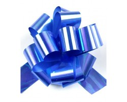 Бант шар 327/55 перламутровый 32мм синий шт.