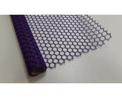 Крошет крупная ячейка 50см*5ярд фиолетовый