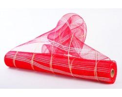 Сетка Голд 53см*6,5м Корея красная