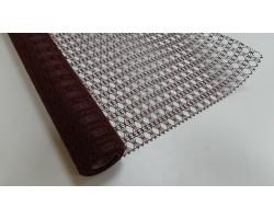 Крошет-ажур 50см*5м темно-коричневый