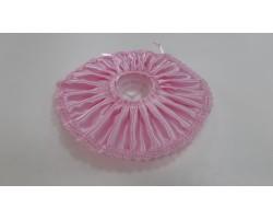 Манжетка атлас розовая