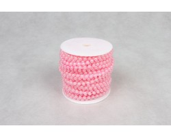 Бусы на бобине 6мм*20м светло-розовый арт.3541388