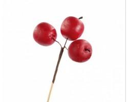 Яблоки на вставке 3*4*50см красный 5500027746943