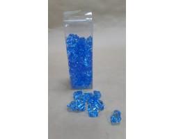 Искусственный лёд 22-27мм 200гр голубой