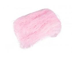 Волокно сизаля 40гр светло-розовый