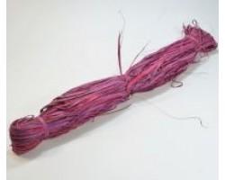 Рафия натуральная 100гр фиолетово-сиреневая