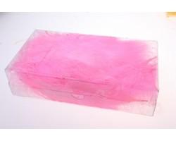 Перья марабу 12-15см 10гр темно-розовый арт.9924