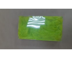 Перья марабу 12-15см 10гр светло-зеленый арт.9930