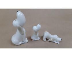 Набор фигурок Собаки (керамика) 5*6*H11см (3шт) 5500011014179