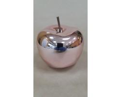 Сувенир Яблоко (керамика) 12*12см розовый арт.31438