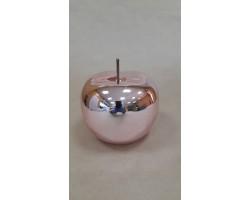 Сувенир Яблоко (керамика) 15*15см розовый арт.31439