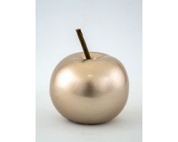 Сувенир Яблоко (керамика) 8*10см шампань арт.31756