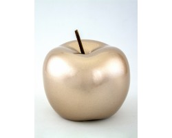 Сувенир Яблоко (керамика) 12*12см шампань арт.31757