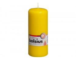 Свеча-столбик 15*6см 43 часа желтый