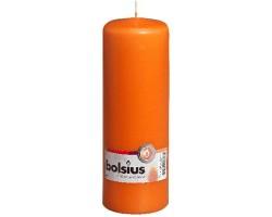 Свеча-столбик 20*7см 84 часа оранжевый