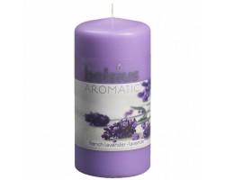 Свеча-столбик 12*6см 33 часа с запахом Лаванды