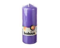 Свеча-столбик 15*6см 43 часа фиолетовый