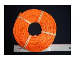 Лоза ротанг 1,75мм 100гр ярко-оранжевый