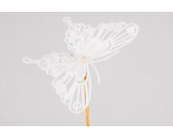 Вставка Бабочка 8*50см барокко белый