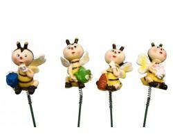 Вставка Пчелка-садовод 3*3*5см