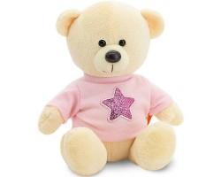 Медведь Топтыжкин звезда 25см желтый арт.MA1991/25