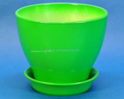 Горшок Ксения 1,5л зеленый