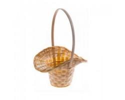 Корзина плетеная (бамбук) Шляпа D18*H5,5/29см натуральный