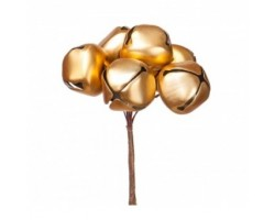 Набор колокольчиков на вставках D3*H9см (6шт) золото арт.KFS6-964A-GOLD