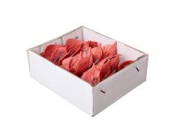 Набор бабочек на вставках 8см (упак.12шт) розовый