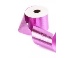 Лента букетная 131-20 блестящая розовая 10см*30м