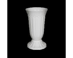 Вазон Флавия 12,0л белый D27*H52см