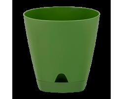 Горшок AMSTERDAM с прикорневым поливом D14см 1,35л оливковый