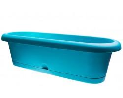 Балконный ящик Lotos 60*22*H17см голубой
