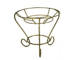 Подставка на подоконик Кувшин (металл) на 1 горшок