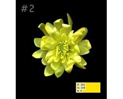 Краска для окрашивания срезанных цветов 275мл 02 желтая
