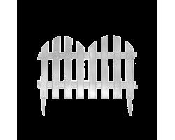 Забор декор. №4 (7 секций) 35*300см белый