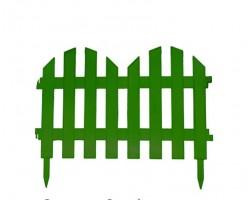 Забор декор. №4 (7 секций) 35*300см зеленый