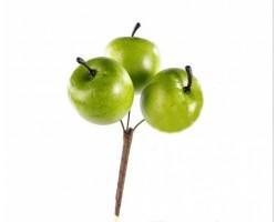 Яблоки на вставке 3*4*50см зеленый 5500026616070