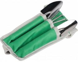 Набор инвентаря для комнатных растений Listok 3 предмета в сумочке (совок 2шт, культиватор)