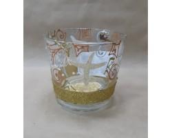 Горшок д/цв (стекло) с/п 1,1л рис.9046 (Р-14)
