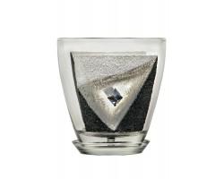 Горшок д/цв (стекло) с/п 1,1л рис.9034 (93-025)