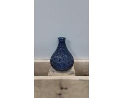 Ваза (стекло) D5*H12,5см синий 5500012075090